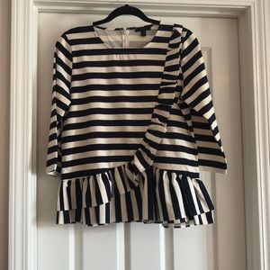 J. Crew nautical top